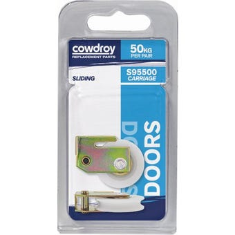 Cowdroy Sliding Door 36mm Concave Wheel Sheave 2 Pack