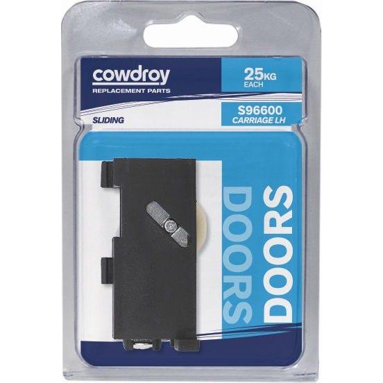 Cowdroy 28mm Sliding Door Concave Wheel Sheave - Left Hand
