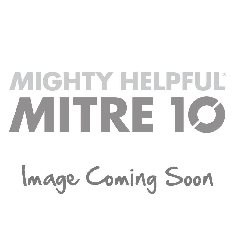 Geelong Twin Diamond Plate Flush Lid Toolbox White
