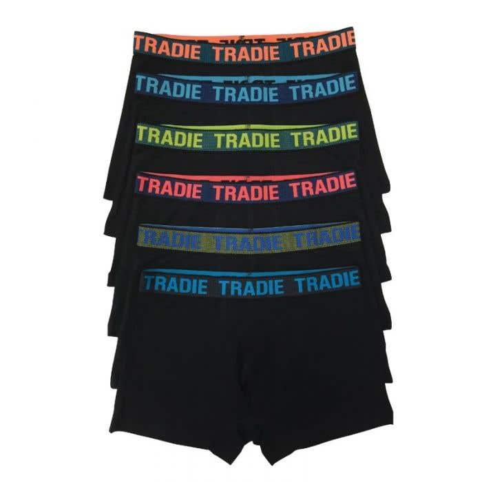 Tradie Men's Ultimate Trunk (6 Pack)
