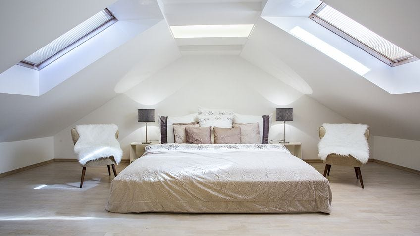 How to create roof space for living & storage