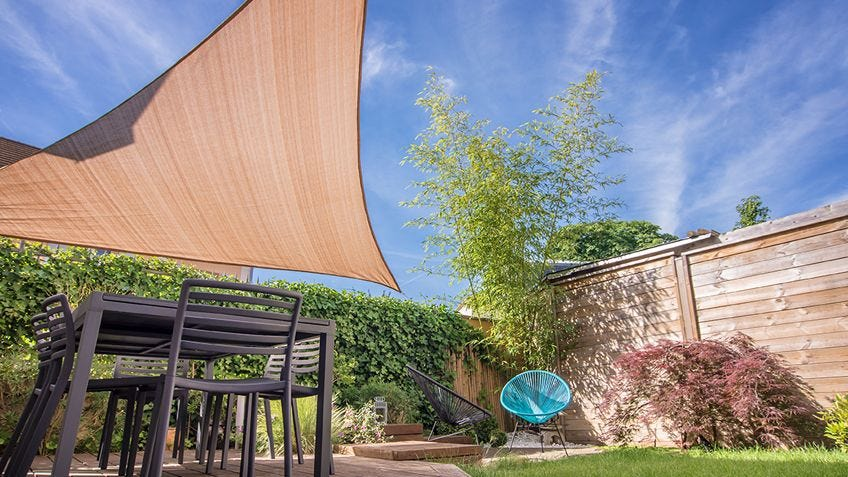 How to create shade in your outdoor area