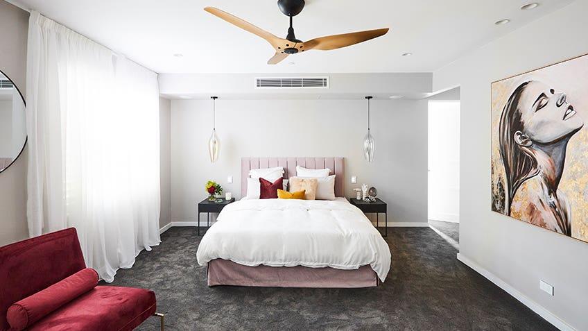 Courtney & Hans: Master Bedroom
