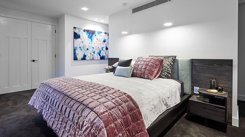 Kerrie & Spence: Master Bedroom