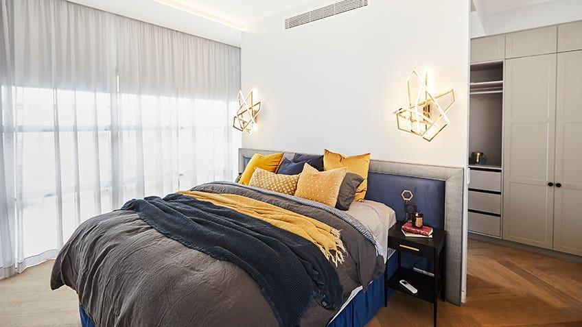 Norm & Jess: Master Bedroom