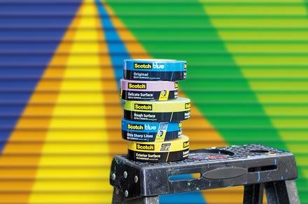 Scotch painter tapes