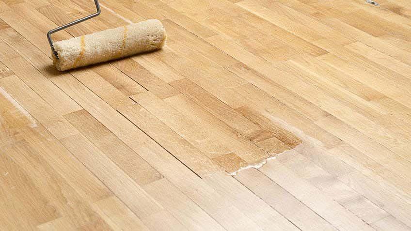 DIY floor polishing