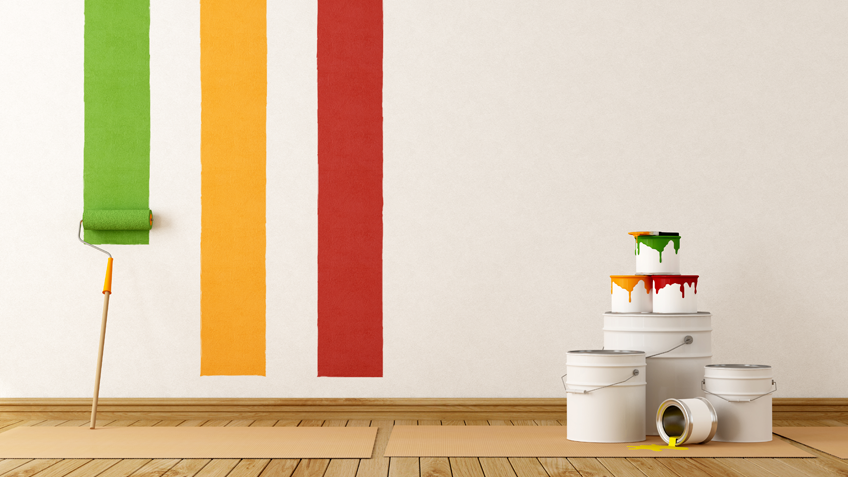 selecting interior paint style