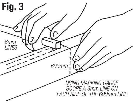 make an easel step 3