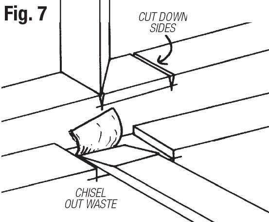 make and easel step 7