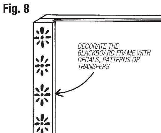 make an easel step 8