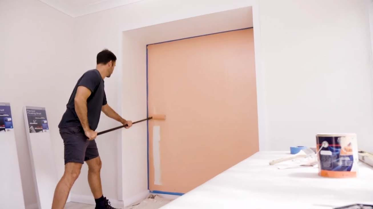 paint the feature wall