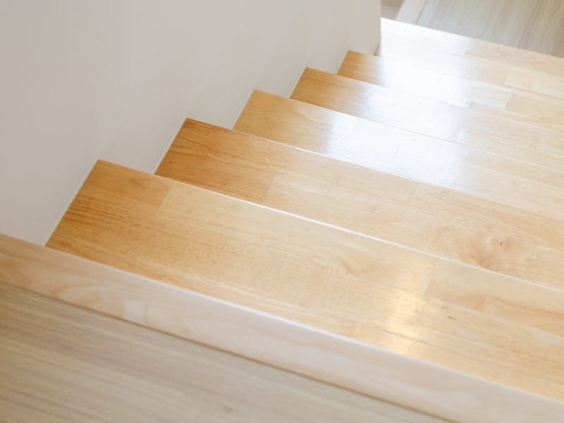 Clean Timber Stairs
