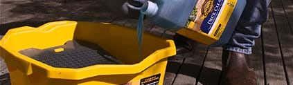 cabots deck clean