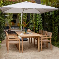 Outdoor Furniture Setting with Umbrella
