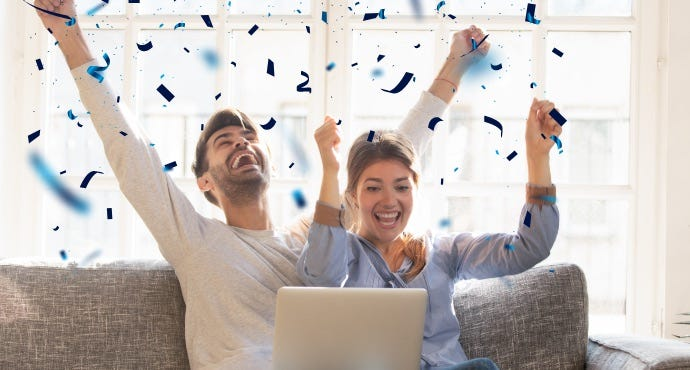 Mighty Rewards Promotions and Competitions - Couple Winning