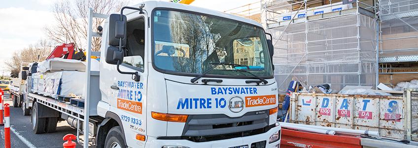 Bayswater Mitre 10 Truck